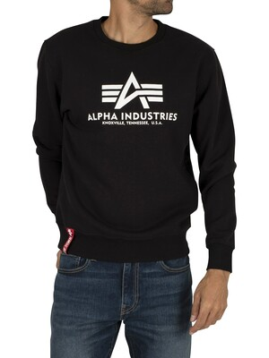 Alpha Industries Basic Sweatshirt - Black