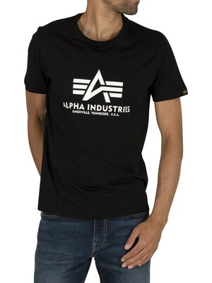 Alpha Industries Basic T-Shirt - Black