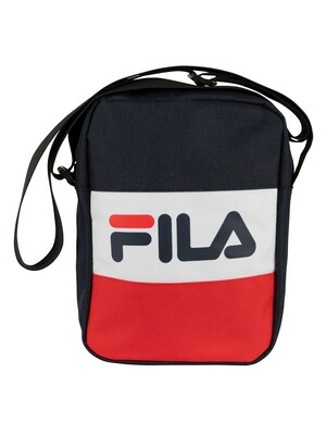 Fila Sheckles Cross Body Bag - Peacoat/Red/White