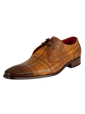 Jeffery West Leather Shoes - Ambar Scottish