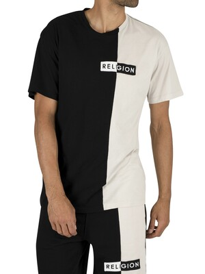Religion Tag T-Shirt - Black
