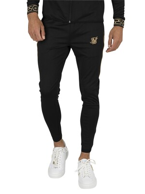 Sik Silk Scope Cartel Track Joggers - Black/Gold