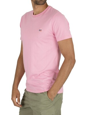Superdry Collective T-Shirt - Prep Pink