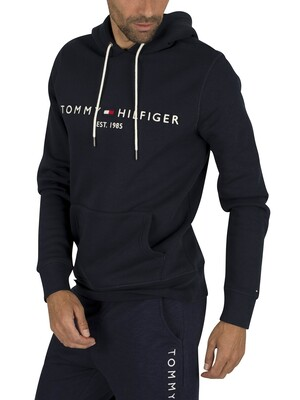 Tommy Hilfiger Core Logo Hoodie - Sky Captain