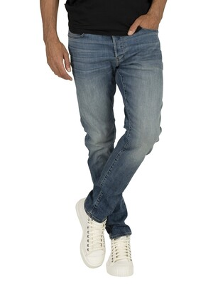 G-Star 3301 Slim Jeans - Vintage Medium Aged