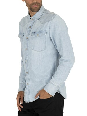 G-Star 3301 Slim Shirt - Light Aged