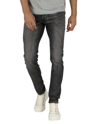 Jack & Jones Glenn Original 817 Slim Jeans - Black Denim