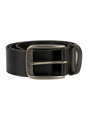 Levi's Alturas Leather Belt - Black