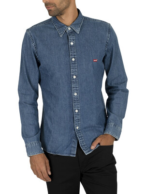 Levi's Battery Denim Shirt - Redcast Stone