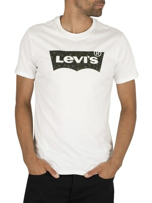 Levi's Housemark Graphic T-Shirt - White