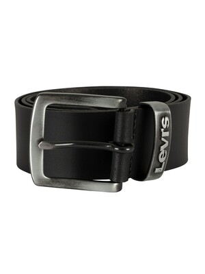 Levi's Pilchuck Leather Belt - Black