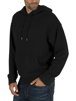 Levi's Relaxed Graphic Pullover Hoodie - Black