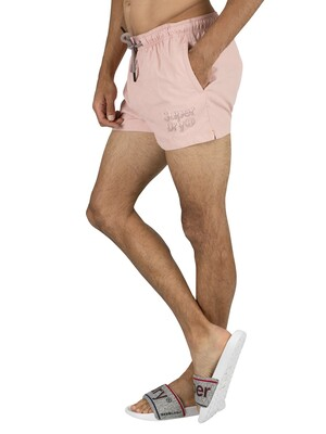 Superdry Sorrento Pastel Swim Shorts - Pink