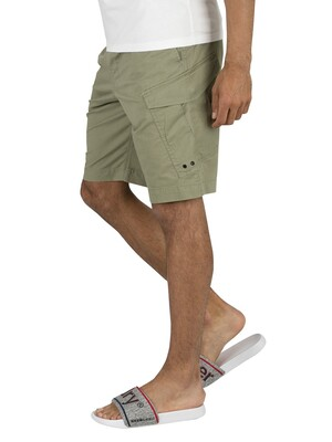 Superdry World Wide Cargo Shorts - Clean Sage