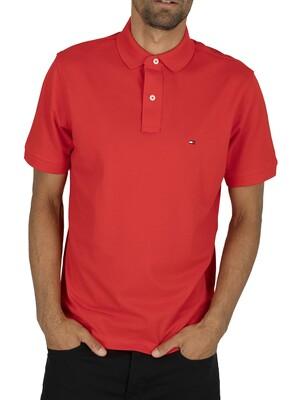 Tommy Hilfiger Regular Polo Shirt - Fiery Red