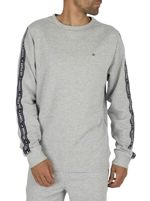 Tommy Hilfiger Track Sweatshirt - Grey Heather