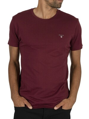 GANT The Original T-Shirt - Port Red