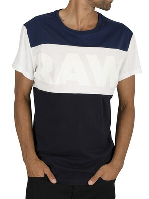 G-Star Starkon Graphic Loose T-Shirt - Imperial Blue
