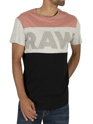 G-Star Starkon Graphic Loose T-Shirt - Dark Tea Rose