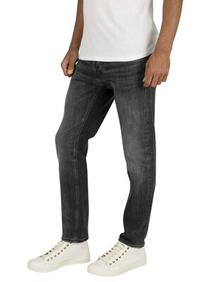 Jack & Jones Tim Original 817 Slim Jeans - Black Denim
