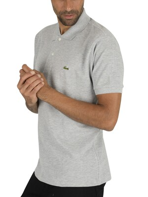 Lacoste Logo Polo Shirt - Grey