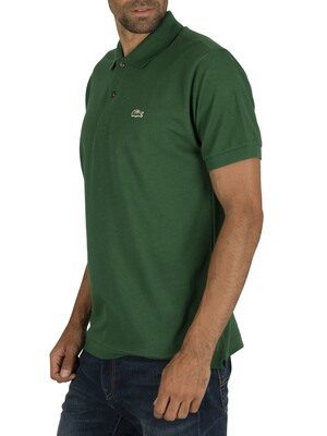 Lacoste Logo Polo Shirt - Green