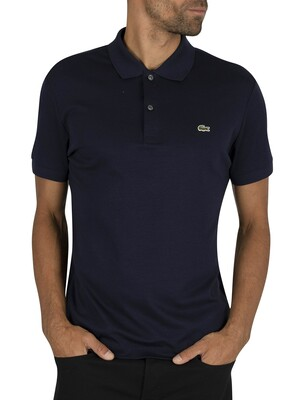 Lacoste Logo Polo Shirt - Navy