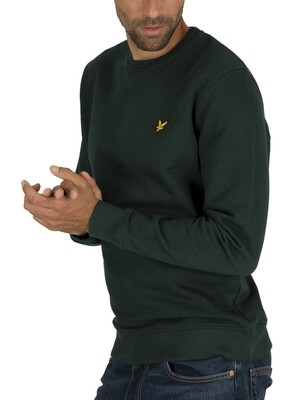 Lyle & Scott Crew Sweatshirt - Jade Green