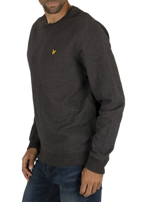 Lyle & Scott Crew Sweatshirt - Charcoal Marl