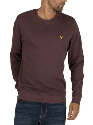 Lyle & Scott Crew Sweatshirt - Berry