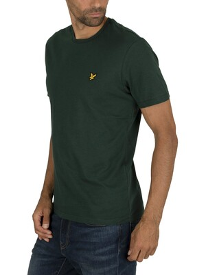 Lyle & Scott Crew T-Shirt - Jade Green