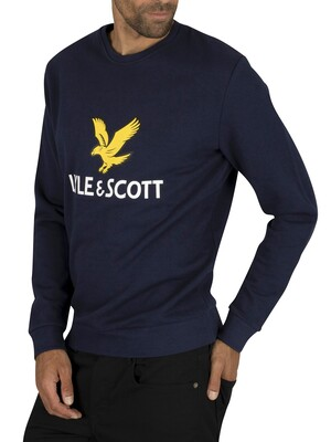 Lyle & Scott Logo Sweatshirt - Navy