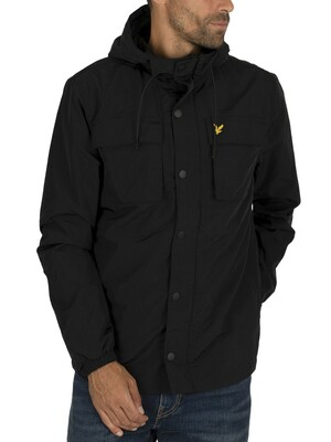 Lyle & Scott Pocket Jacket - True Black