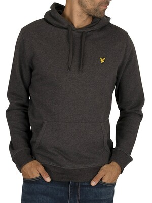 Lyle & Scott Pullover Hoodie - Charcoal Marl