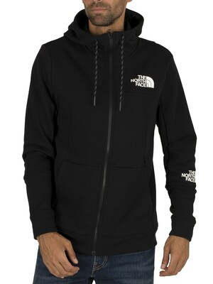 The North Face Lite Zip Hoodie - Black