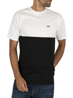 Vans Colorblock T-Shirt - White/Black