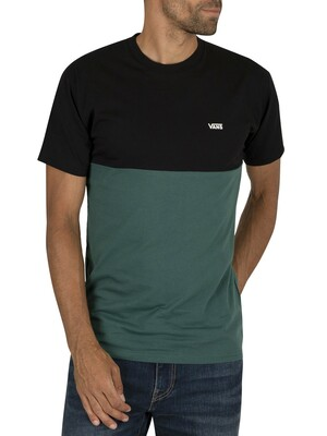 Vans Colorblock T-Shirt - Black/Van