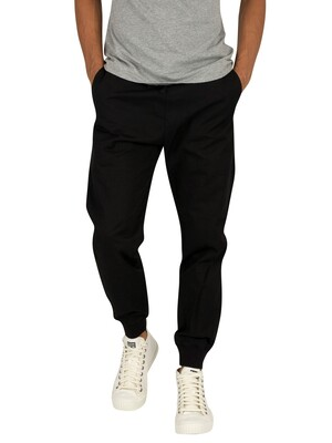 Carhartt WIP Madison Joggers - Black Rinsed