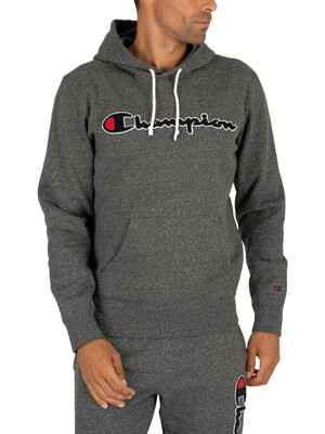 Champion Graphic Pullover Hoodie - Dark Grey