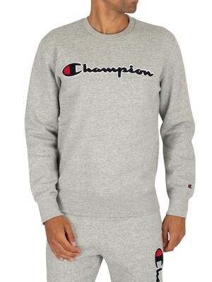 Champion Graphic Sweatshirt - Grey