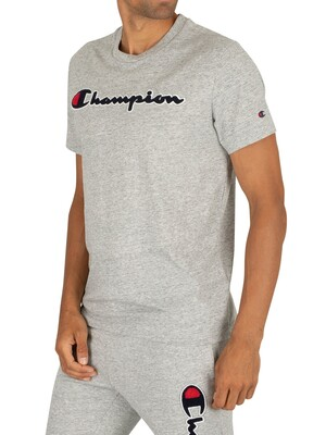 Champion Graphic T-Shirt - Light Grey