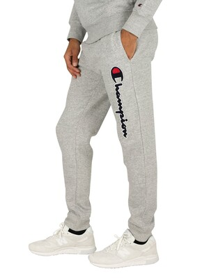Champion Rib Cuff Joggers - Light Grey