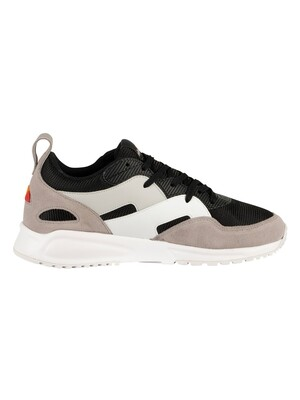 Ellesse Potenza Suede Trainers - Black/Grey/White
