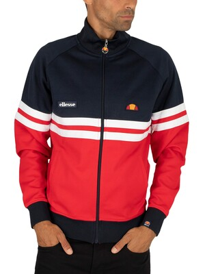 Ellesse Rimini Track Jacket - Red