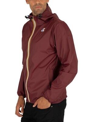 K-Way Le Vrai 3.0 Claude Jacket - Red Dark Amaranto