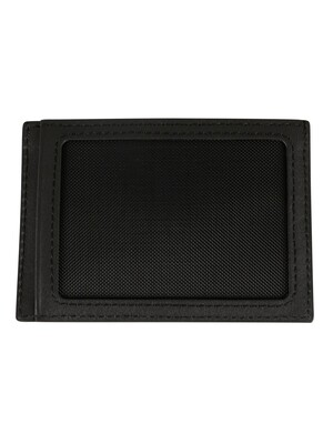 Lacoste Billfold Leather Coin Box - Black