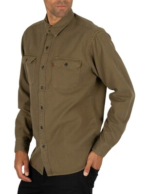 Levi's Jackson Worker Shirt - Olive Night