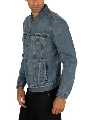 Levi's Lined Trucker Jacket - Sequoia