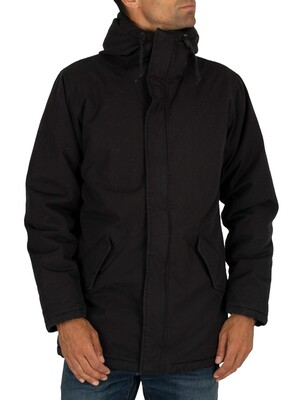 Levi's Thermore Padded Parka Jacket - Caviar