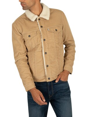 Levi's Type 3 Sherpa Trucker Jacket - True Chino Cord
